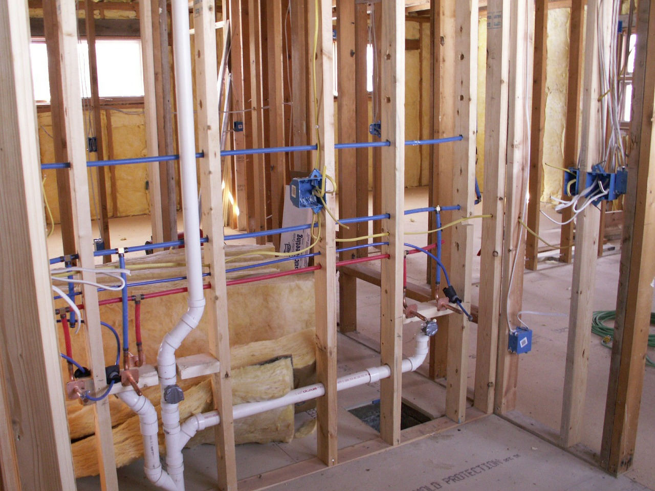 Building a house in frederick county call putman plumbing for Plumbing a new house
